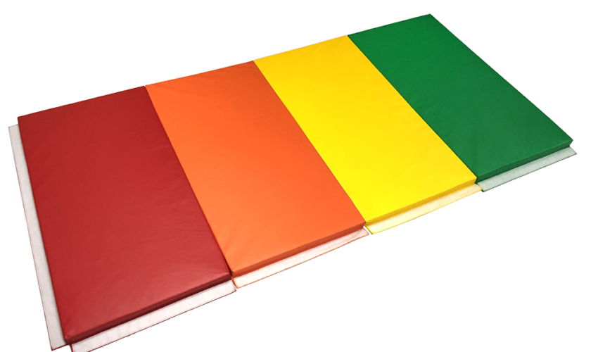 Tumble Mat Multi Colored Folding Top Shot