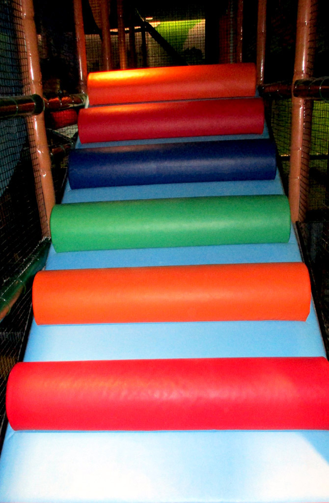 irec indoor playground soft play stairs