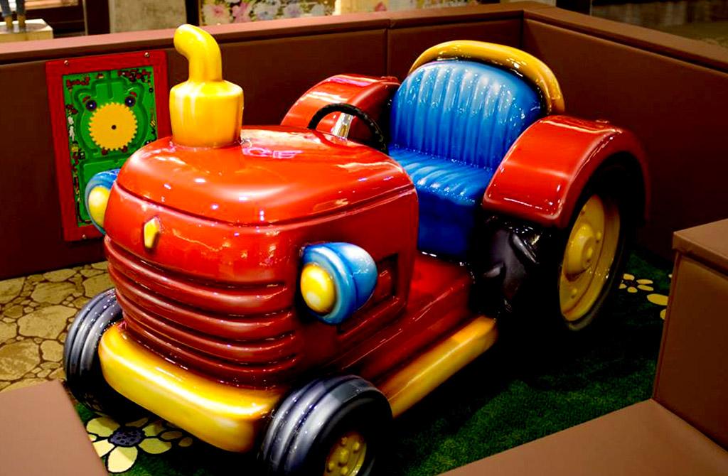 irec children's playground project vehicle